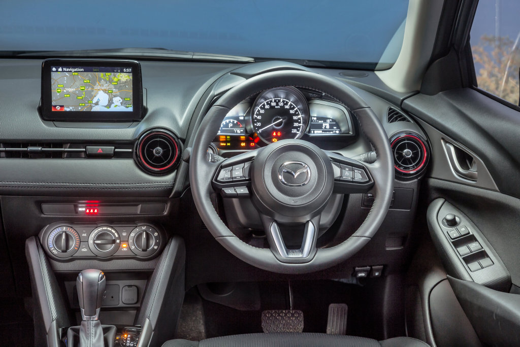 Mazda has updated its CX-3 for 2017 with improved safety standards.