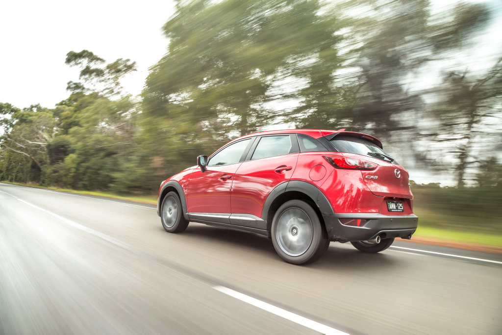 LEAD VEHICLE: Safety upgrades and steady dynamic progression for Australia's leading compact SUV, the Mazda CX-3.