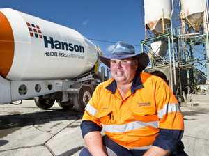 Largest cement truck in country rolls up in Toowoomba