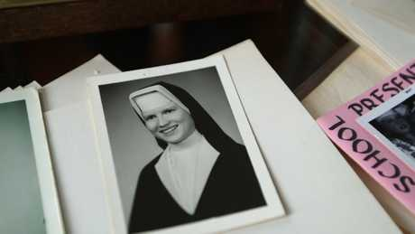 A scene from the Netflix documentary series The Keepers.