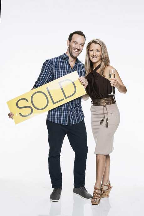 Azza and Emily star in the TV series Aussie Property Flippers.