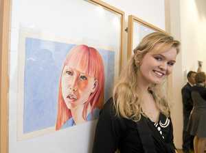 Art show celebrates work of region's young artists