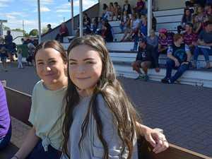 Diehard fans support Dalby