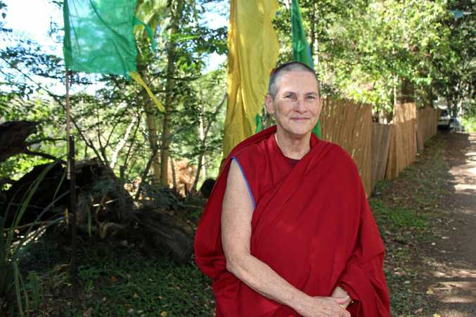 FOUND HER CALLING: Lozang Lhagsam said Buddhism helped her identify what was important in life and how to live a meaningful existence.