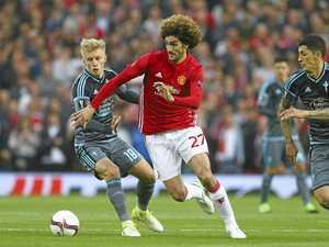 United survives late drama to make Europa League final