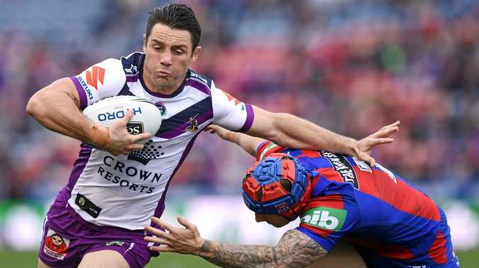 WOULD SHINE: Cooper Cronk (left) would be capable of making the switch from NRL to Super Rugby, according to Karmichael Hunt.