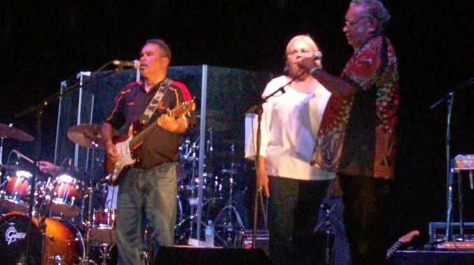 The Muddy Flats Band will a be playing the Cattleman's Bar at the Gympie Show this year.