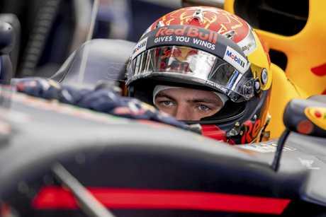 Red Bull Racing driver Max Verstappen.