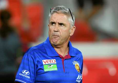 Brisbane Lions coach Chris Fagan