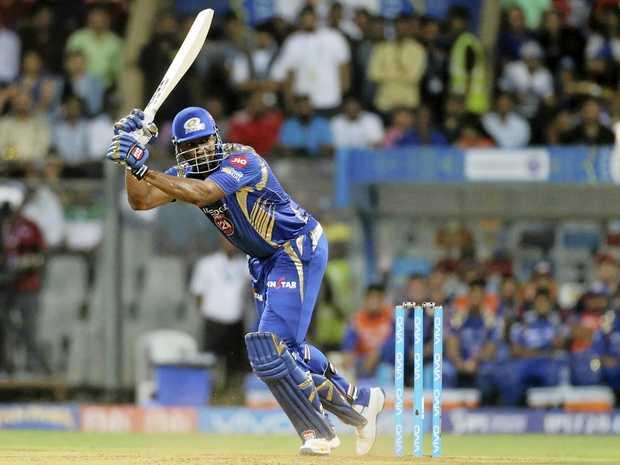 Mumbai Indians batsman Kieron Pollard.