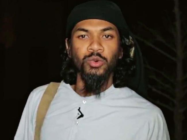 Neil Prakash in an IS propaganda video.