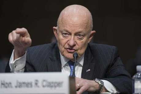 Former Director of National Intelligence James Clapper testifies during the Senate Judiciary subcommittee hearing entitled, 'Russian Interference in the 2016 United States Election', on Capitol Hill in Washington, DC, USA, 08 May 2017.