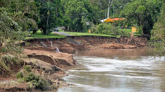 PASS THE BUCK: Governments are shifting responsibility for reconstruction work funding which has delayed repairs to places such as Plane Creek in the centre of Sarina.