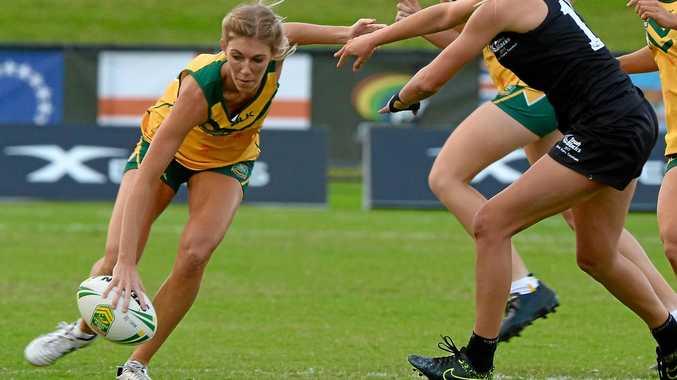 VICTORIOUS: Australia representative Hayley Maddick.
