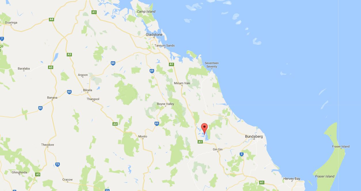 Emergency services are at the scene of a two-car collision near Lake Monduran on the Bruce Hwy.