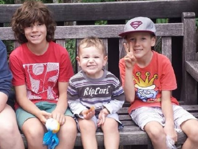 Taite Van Der Heyden, 12, Scout, 4, and Kobi, 9. Taite and Kobi died in the crash on the Newell Highway last Saturday. Scout was airlifted to The Children's Hospital at Westmead in a serious condition.