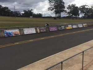 Motorcycle Sportsmen of Queensland action at Morgan Park Raceway
