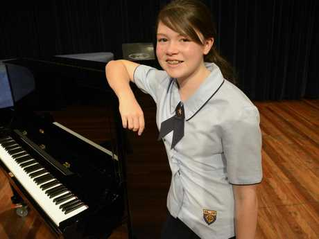 Aylish Prewett won the Year 9 Female Vocal Solo section at the Toowoomba Eisteddfod at the Empire Theatre.