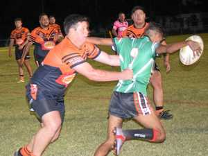 Tigers pounce on Eagles in fierce game