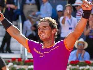 Nadal books Madrid final berth after breaking Djokovic run