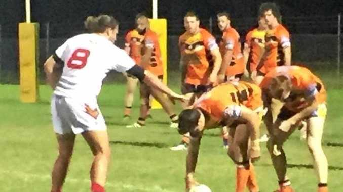 Wests Tigers win a clean sweep over country rivals, the Sarina Crocodiles.