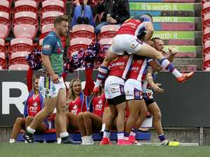 Knights shock Raiders with blistering second half