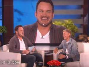 Chris Pratt's NSFW blooper on the Ellen show
