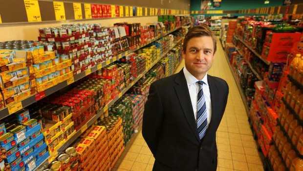 Aldi Australia chief executive Tom Daunt.