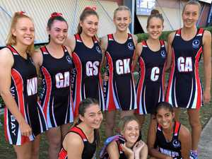 Burnett girls put in strong showing for netball champs