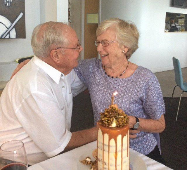 IN LOVE: Alan and Jocelyn Bashford marked their 60th wedding anniversary with more love than ever.