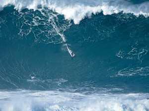 Currumbin surfer goes big