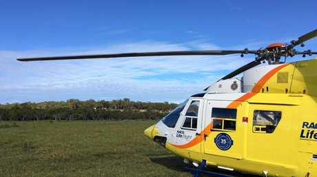 The RACQ LifeFlight helicopter was tasked to the incident.