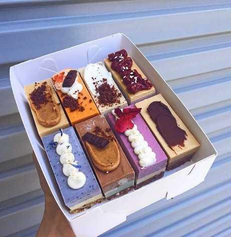 YUM: Rawr Food treats.