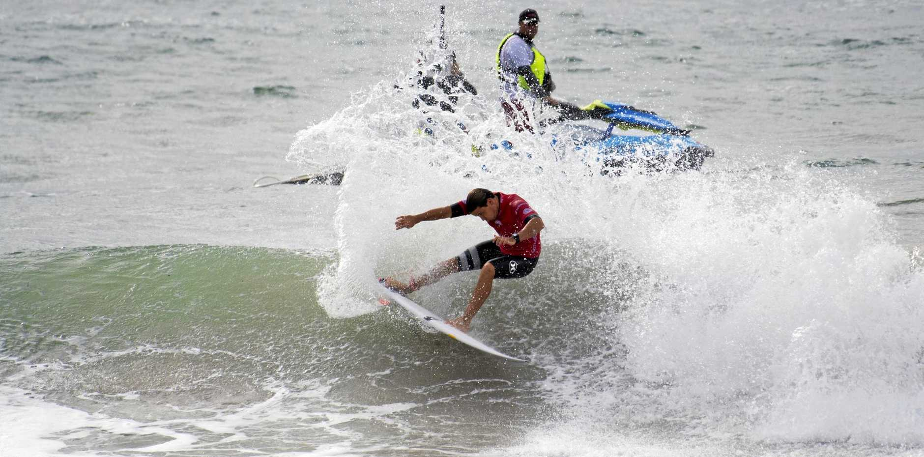 IN ACTION: Julian Wilson at a prior event.
