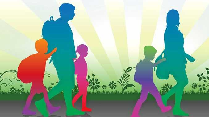 National walk to school safely day