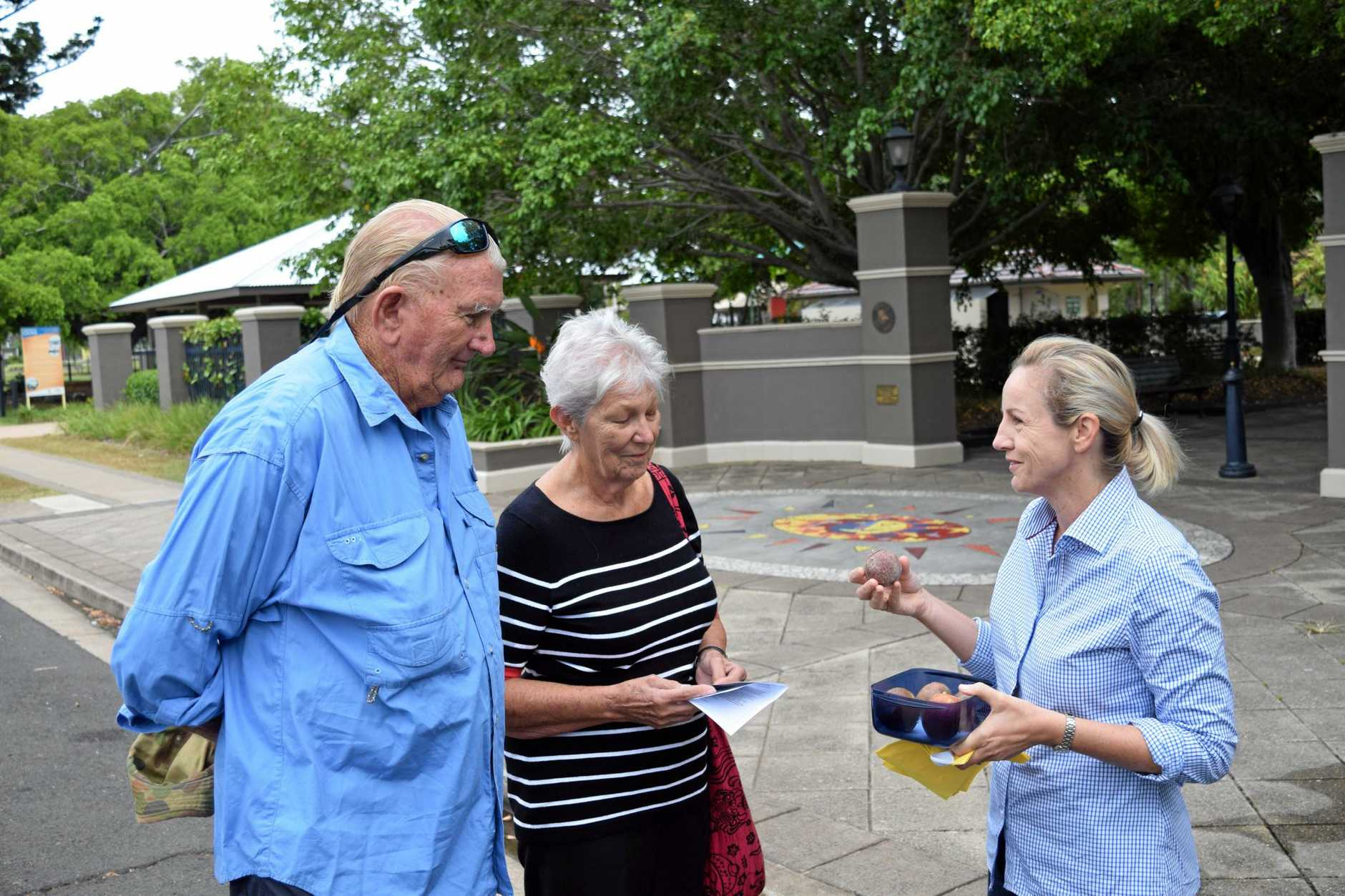 GOOD FOOD: Bundy Food Tours' Suzie Clarke (right) has a passion for sharing Bundy produce.