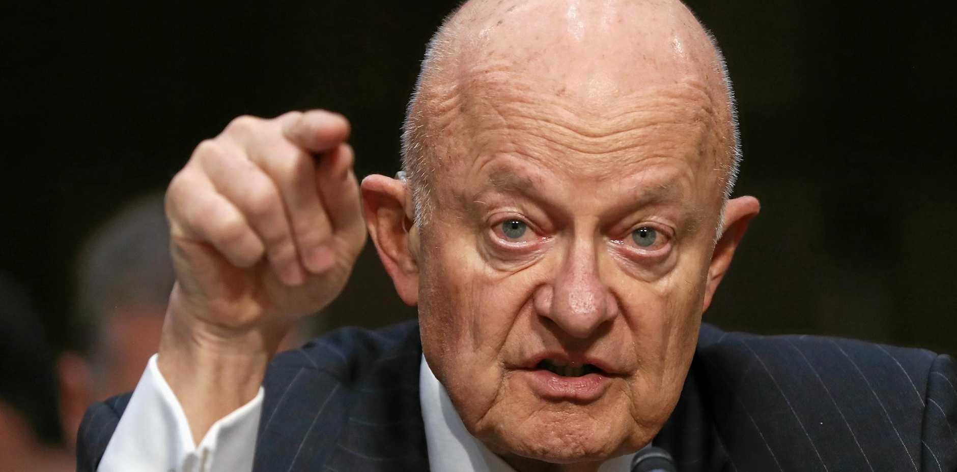 Former National Intelligence director James Clapper has described the US government as being