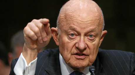 Former National Intelligence Director James Clapper.