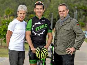 Olympic cyclist gives thumbs up for Rail Trail