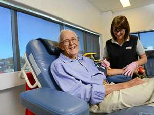 Ipswich blood donor 'retires' after 177 visits