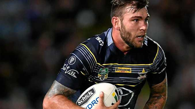 FOCUSSED: Kyle Feldt has inked a new deal with the Cowboys.