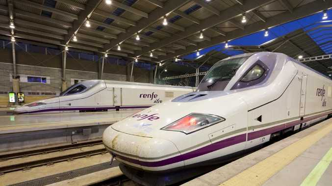 The State Opposition would like to see bullet trains in the southeast corner, similar to these ones from Spain. Picture: Supplied