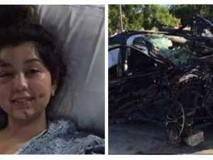 Mum shares devastating photos to warn against drunk driving