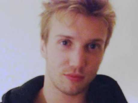 Marcus Volke, 27, had a lot to hide.