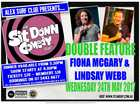 Enjoy a night filled with laughter as Lindsay Webb and Fiona McGary will have your sides splitting at the Alex Surf Club. Presented by the Sit Down Club.