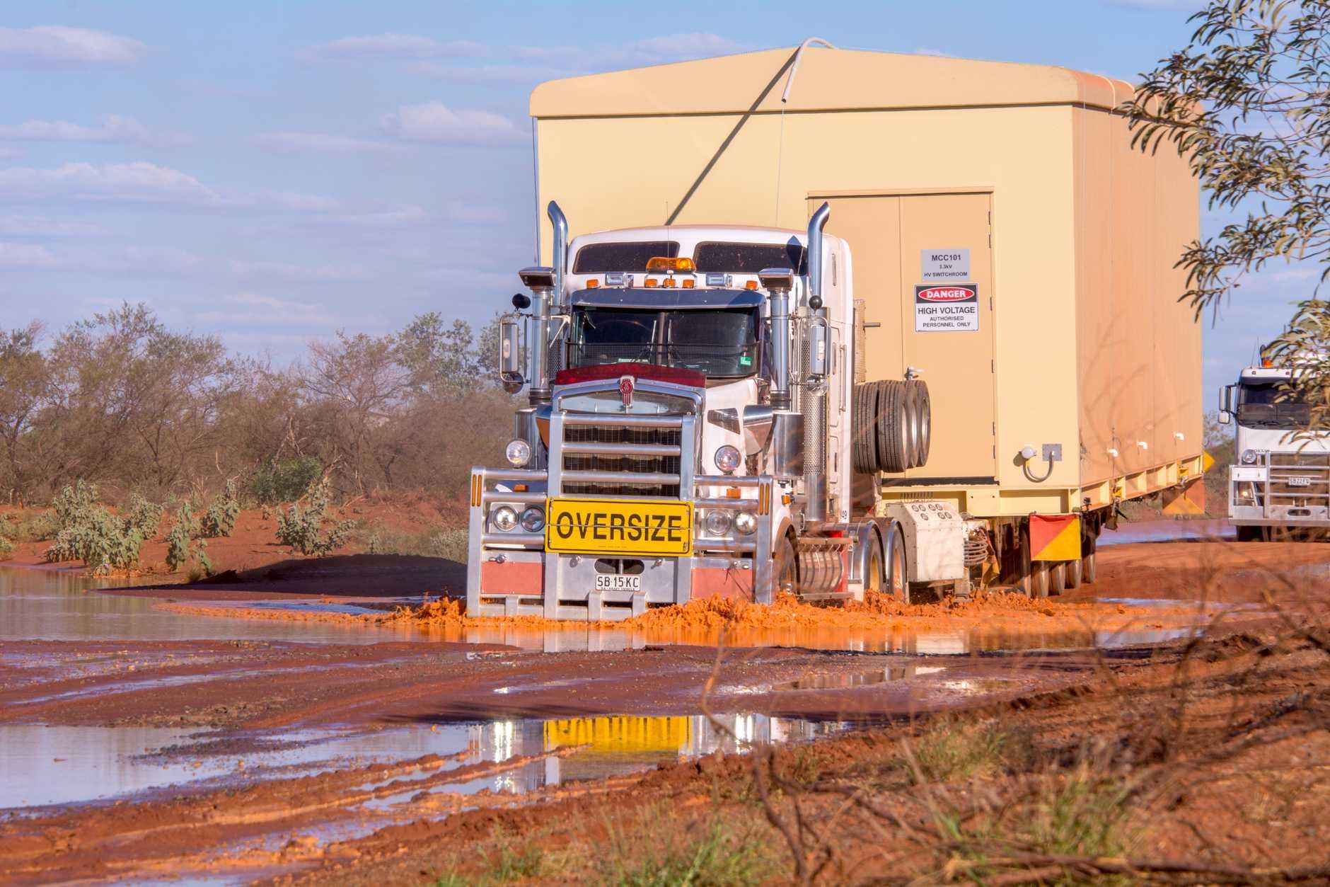 Outback Truckers return for season 5