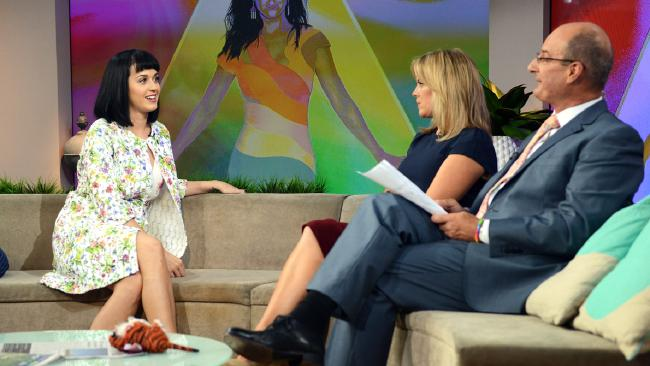 Katy Perry on Sunrise.