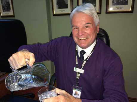 Water and Waste Services general manager Kevin Flanagan is retiring.