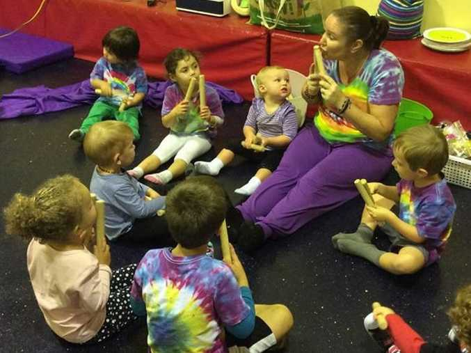 Hervey Bay's Kim McNaught volunteers her time to promote learning with dance and music through her not-for-profit her Sassymac Kids Music and Movement Program.