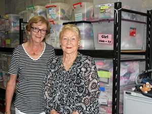 Aspley duo helps mothers in need